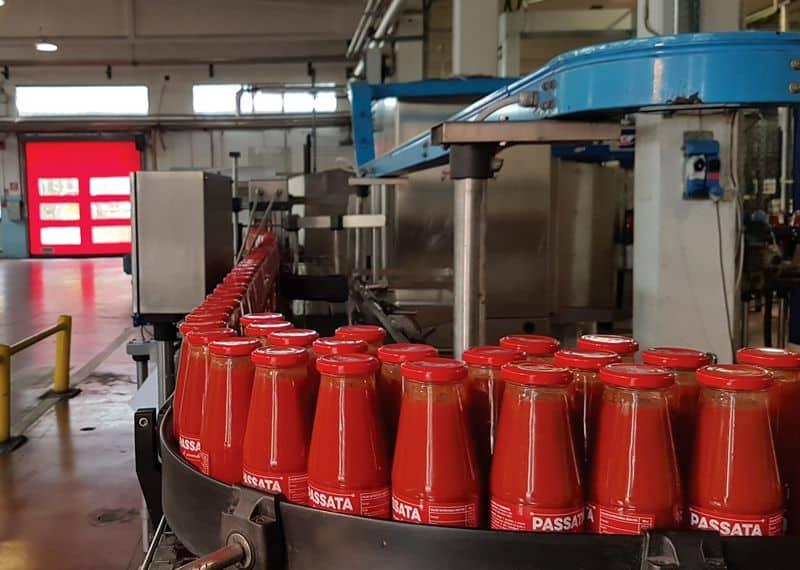 lavorazione industriale pomodoro