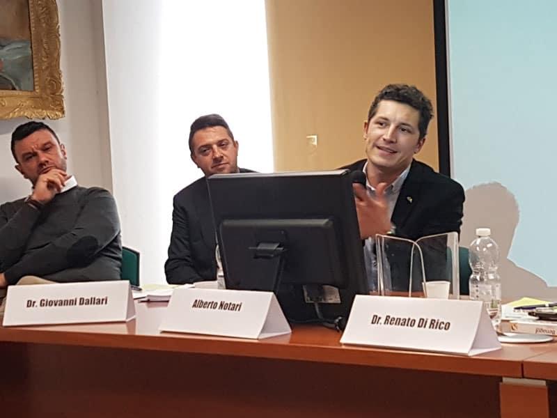 tavolo relatori convegno Sicurezza
